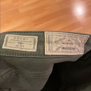 All Saints Pants - All Saints Ashby jeans in green. Size 31.
